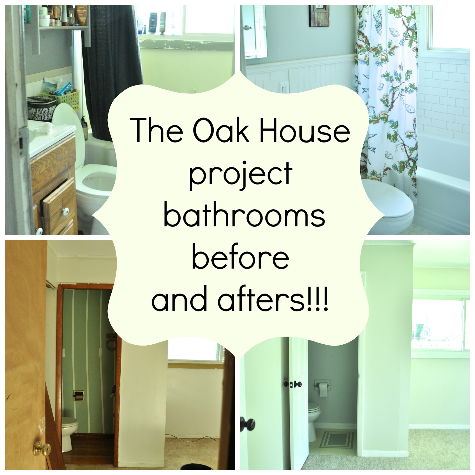 Complete budget bathroom renovations with befores and afters ...