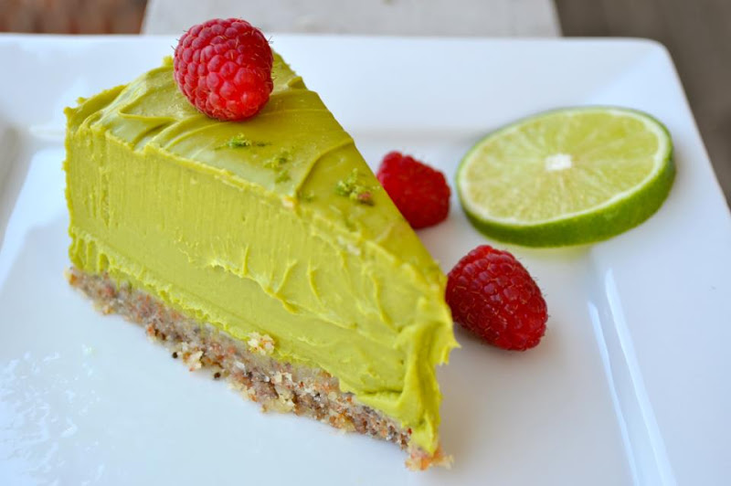 """Heather made my avocado lime cheesecake. Doubled it for an 8"""" pan."""