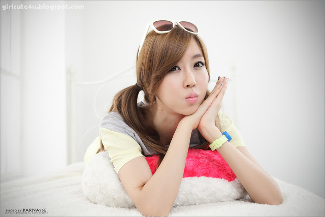 Choi-Byul-I-Yellow-and-Grey-09-very cute asian girl-girlcute4u.blogspot.com