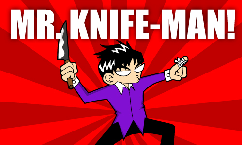 knife man