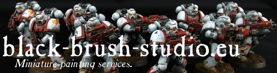 Black Brush Studio - Miniature painting services