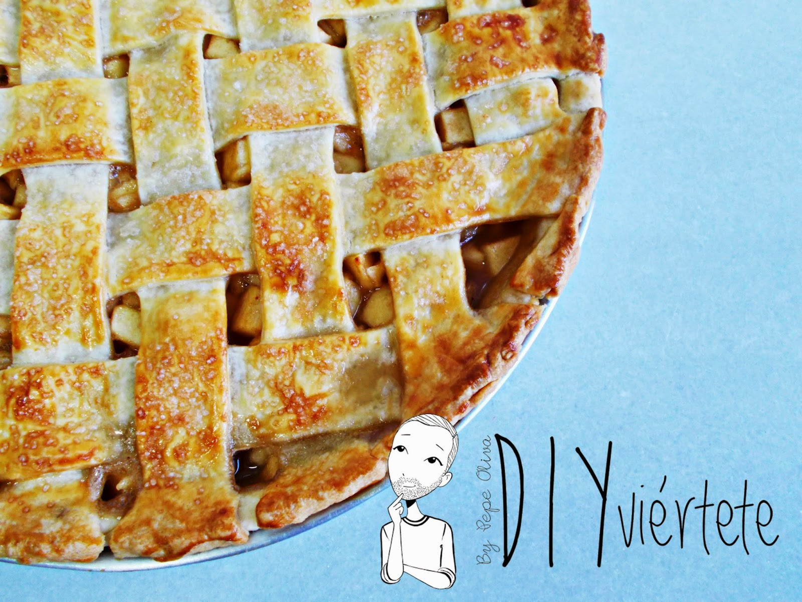Receta-cocina-postre-reposteria-tarta de manzana-apple pie-pie de manzana-canela-fruta-2