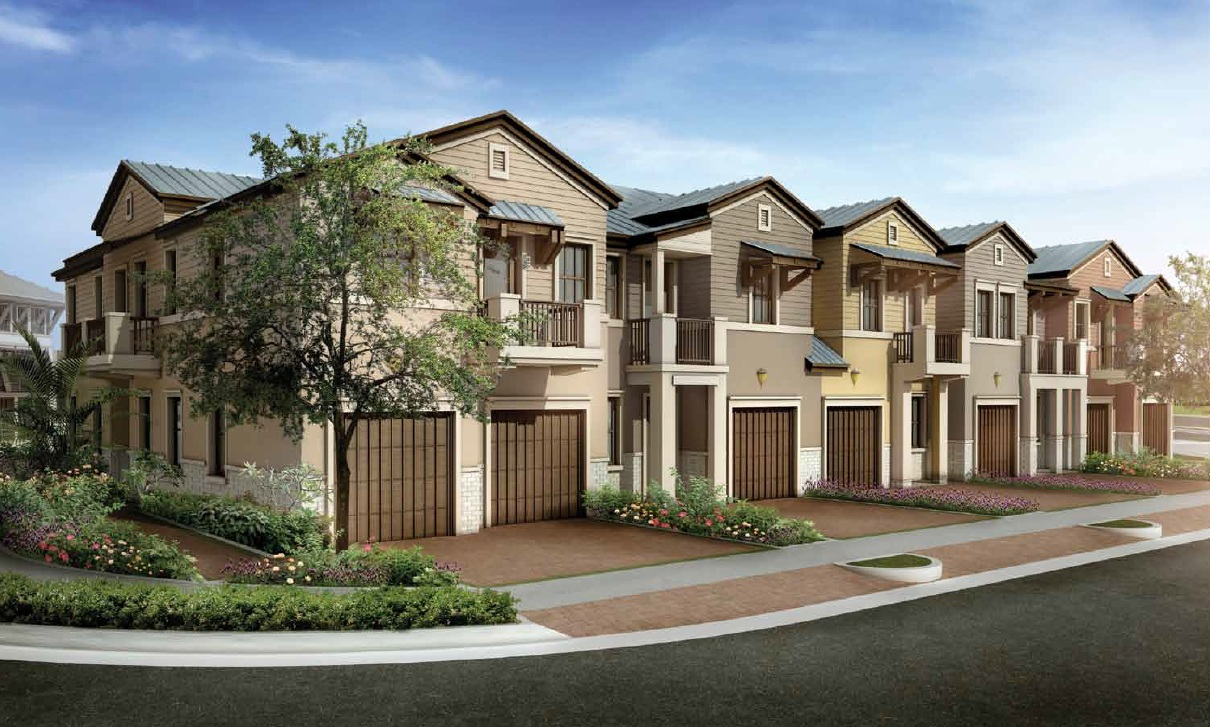Doral riches real estate blog doral cay a new townhome for Modern townhomes