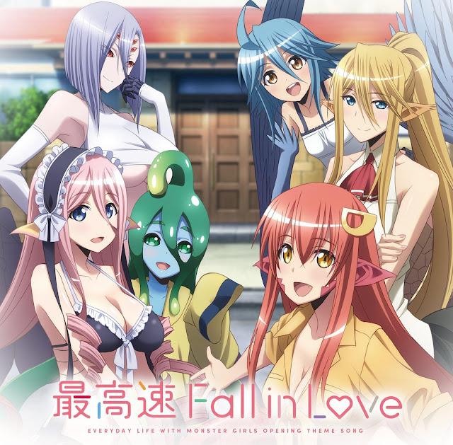 最高速 Fall in Love 歌詞 lyrics モンスター娘のいる日常 OP Monster Musume