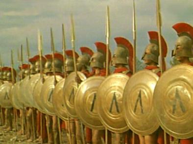 A ORIGEM DO HOMEM: Verdade sobre Os 300 de Esparta: Eles