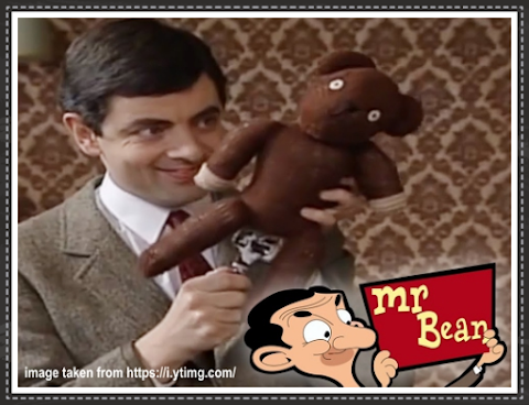 Mr Bean's Teddy Bear