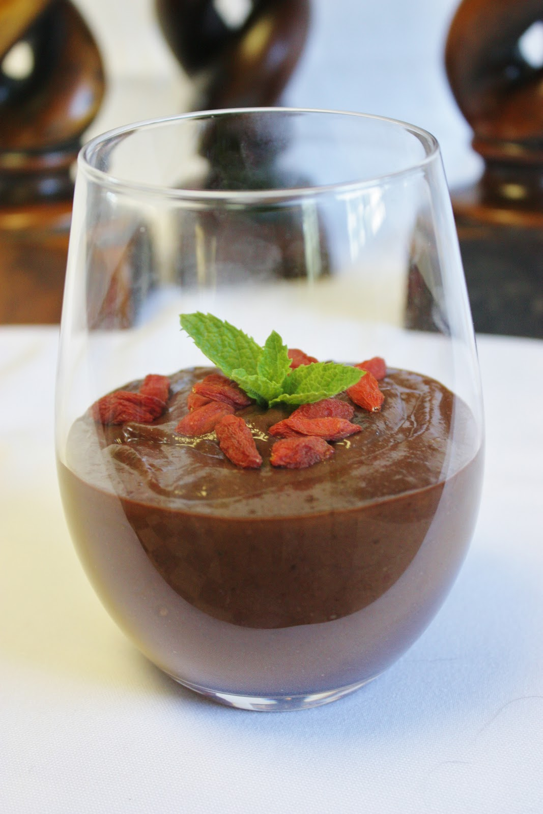 This Rawsome Vegan Life: chocolate banana berry pudding