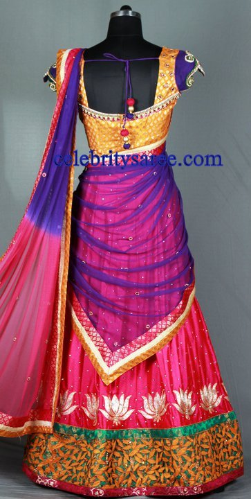 Half Saree Designers in Hyderabad http://www.celebritysaree.com/2011/07/beautiful-half-sarees-and-designer-work.html