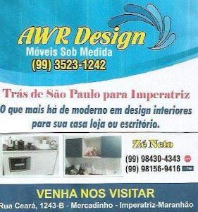 AWR DESIGN - MOVEIS SOBRE MEDIDAS
