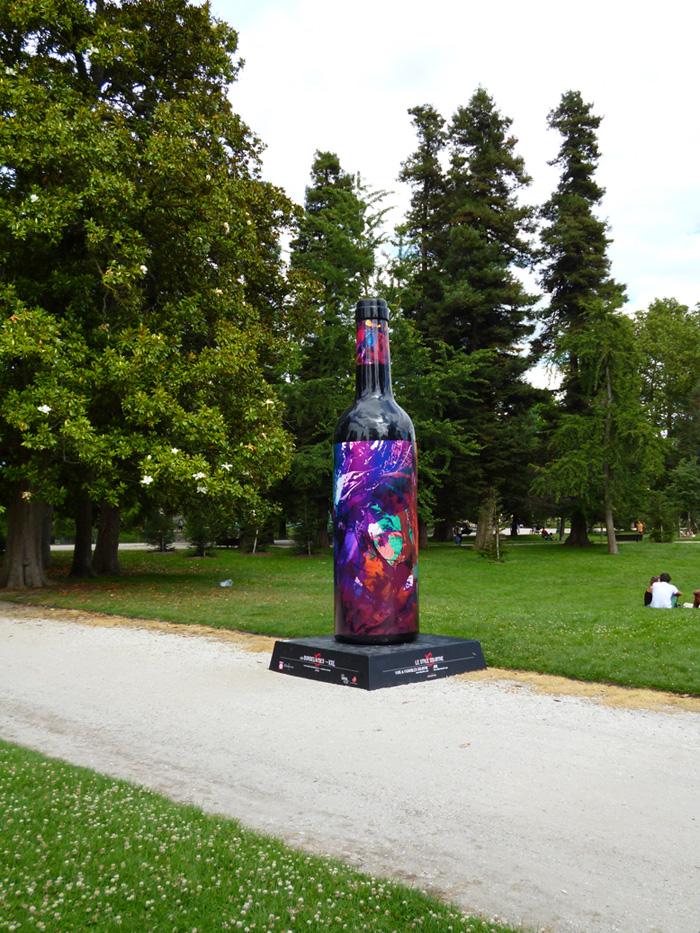 Suite de l'exposition au jardin public de bordeaux, visible jusqu'au 3