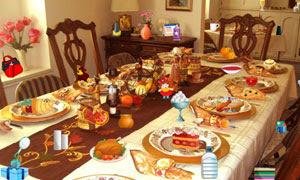 Thanksgiving Dinner Hidden Objects