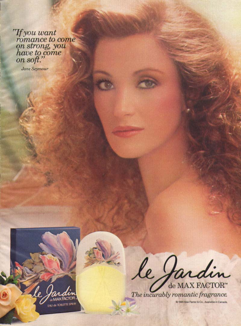 This Early 80s Jane Seymour Commercial For Max Factor