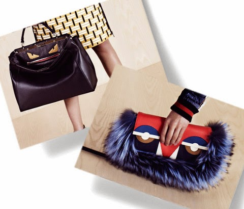 fendi monster bags