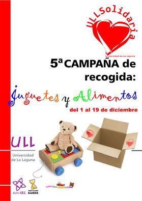 5ª Campaña de recogida de juguetes y alimentos