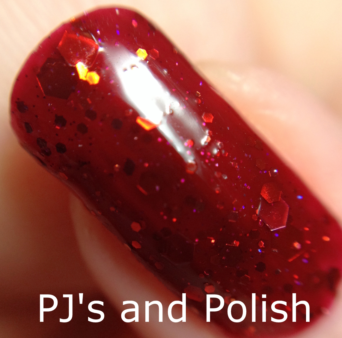 Swatch and Review KBShimmer Leaf of Faith Seche Vite Glitter Jelly