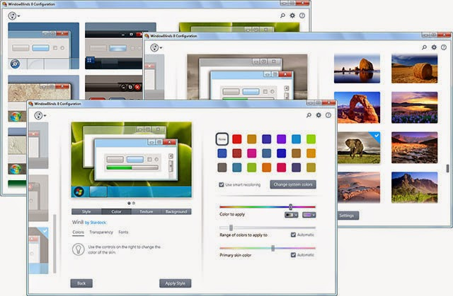 Download StarDock WindowsBlinds 8.1 Full Crack screenshot
