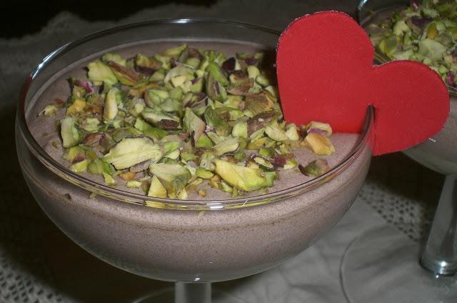 coppa di bavarese al pistacchio
