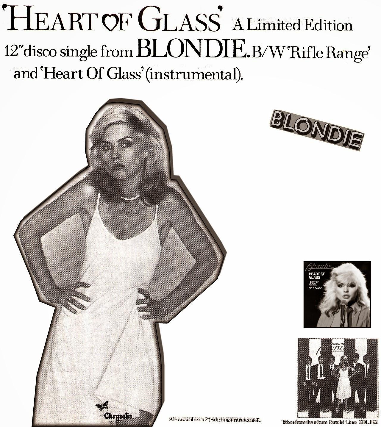 RECORTES DE PRENSA - Página 8 Blondie,+%E2%80%98Heart+of+Glass%E2%80%99+12%E2%80%9D+disco+mix+promo+advertisement,+1979