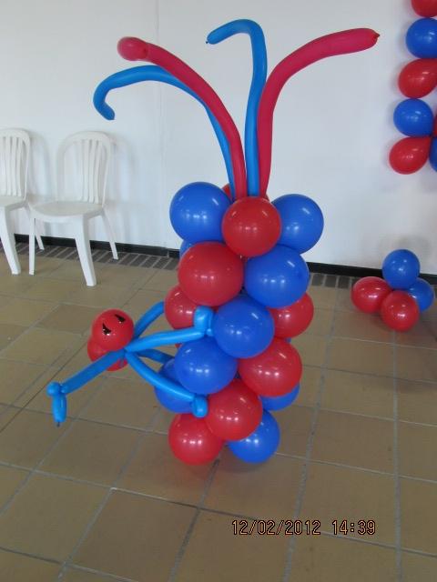 Decoracion con globos para cumplea os del hombre ara a for Decoracion de globos para hombres
