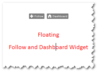 How to Add Floating Follow and Dashboard Button Widget on Your Blogger