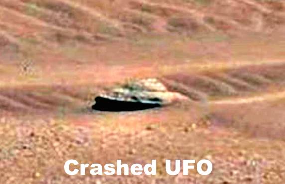 Crashed UFO Discovered On Mars 2015, UFO Sightings