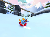 Club Penguin Sled Racer Gameplay 1