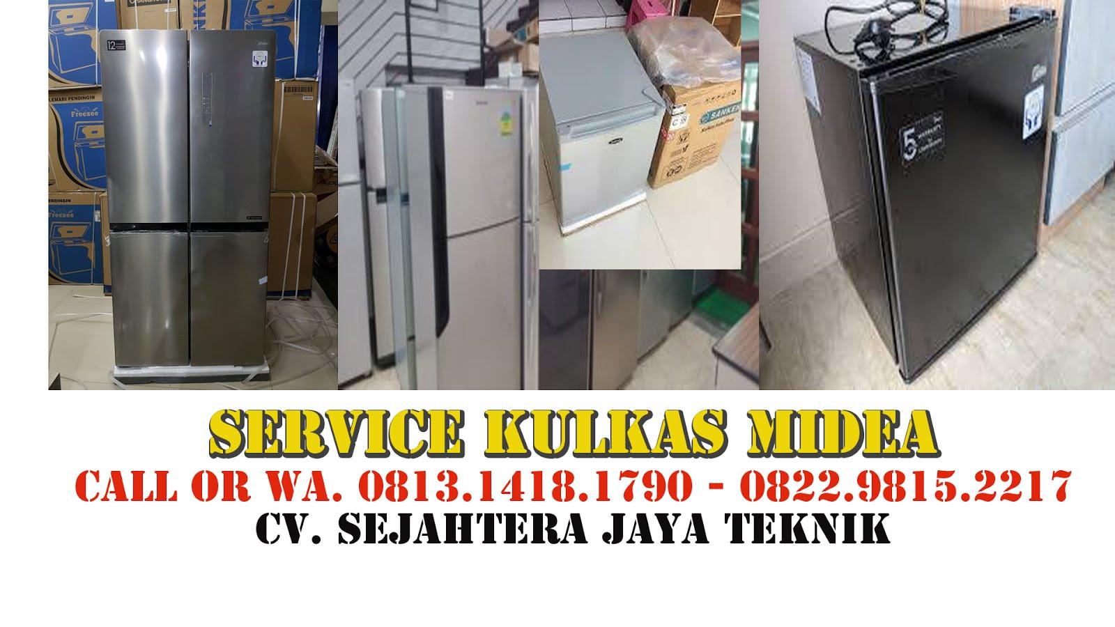 Service Kulkas Midea Jakarta Pusat