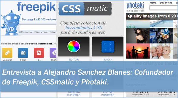 Alejandro Sanchez Blanes-Entrevista-Freepik-CSSmatic-Photaki-recursos grficos-diseadores-banco de imgenes