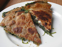 Goat Cheese Pesto Quesadillas