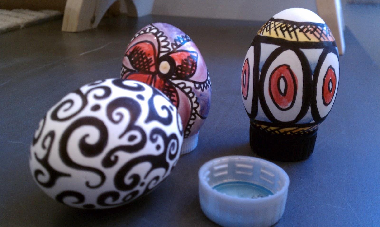 Chet Pourciau Design Easy Easter Egg Decorating