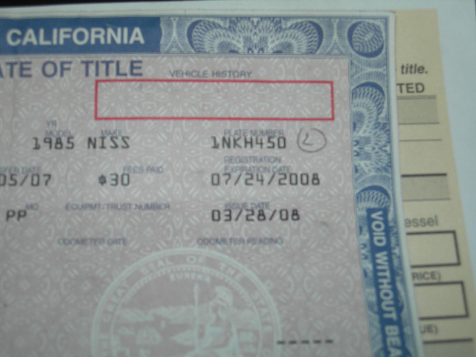 How to find a vin number using license plate 2014