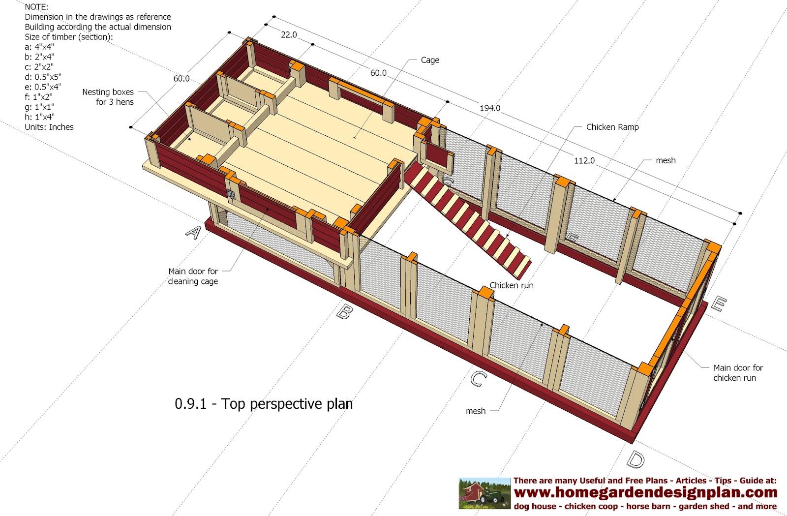 Coop qu chicken coop design instructions for Chicken coop plans free pdf