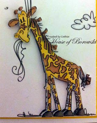 Bugaboo Stamps Balloon Giraffe