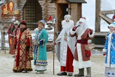 Святой Николай и Дед Мороз в Древнем Киеве