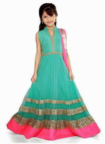 Indian fashion trend indian ethnic wear online indian clothing - Ethnic Wear Dresses For Kids Baby Girls Wedding Wear