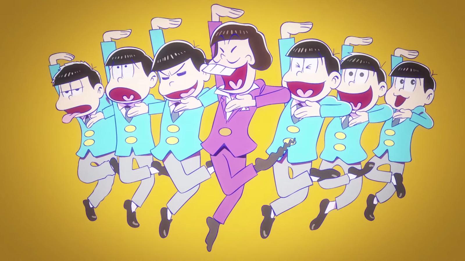 Se confirma segunda temporada delanime Osomatsu san!