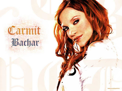 American Celebrity Carmit Bachar Wallpaper
