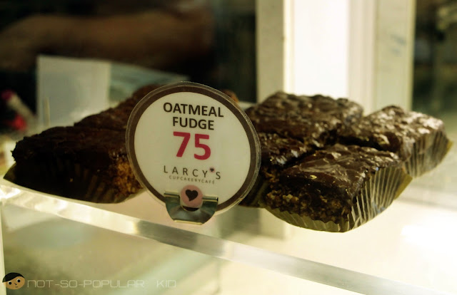Oatmeal Fudge of Larcy's Cupcakery