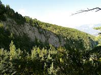 Vistes de la Vall de Malanyeu i de la Costa Freda des de la Collada del Tosquer