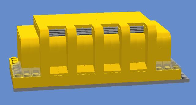 LEGO Butterdome