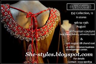 PeshberrY RTW Choti Eid Collection 2012
