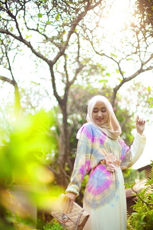 "... Hijab Style ""The Jasmine"" - Kumpulan Tutorial Memakai Jilbab Terbaru"