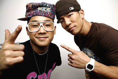 Mighty Mouth members Shorry J and Sangchu