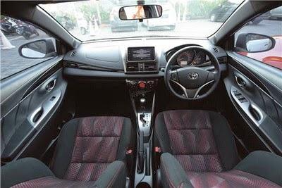 Interior Toyota All New Yaris