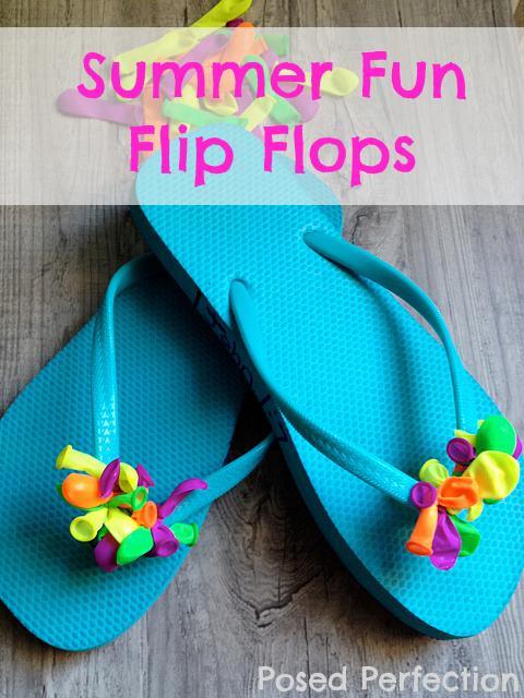 Summer Fun Flip Flops