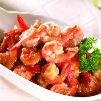 Resep dan Cara Memasak Udang Goreng Mentega.