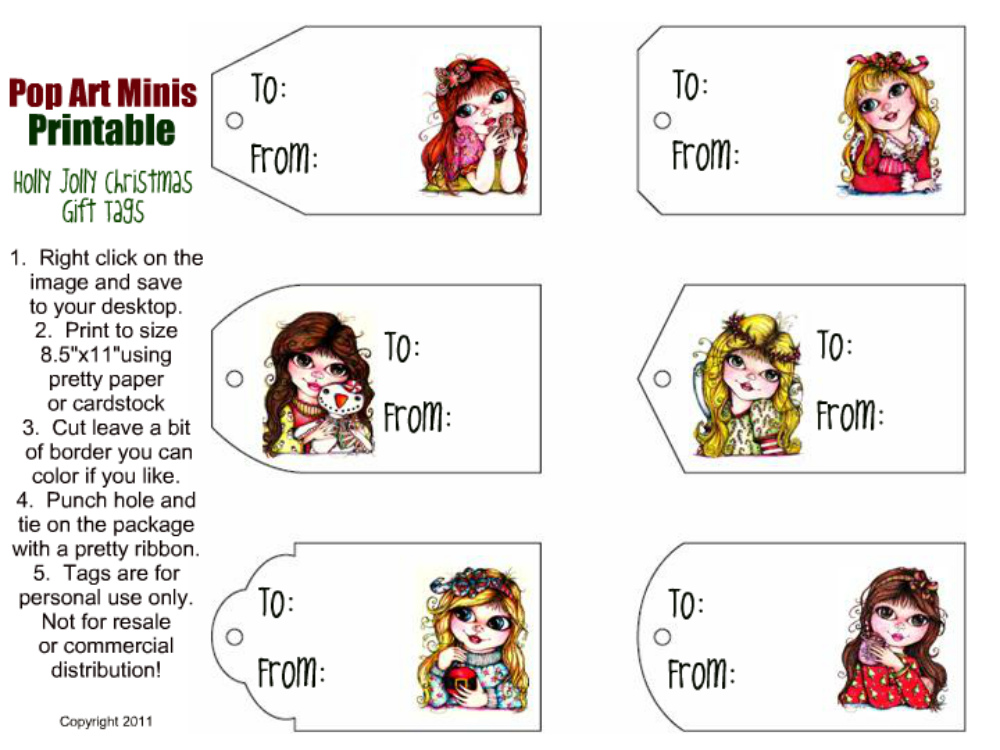 graphic regarding Free Printable Minis named Pop Artwork Minis: Absolutely free DOWNLOADS