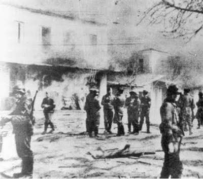 28 Ιουλίου 1943  Το Ολοκαύτωμα της Μακρυνείας