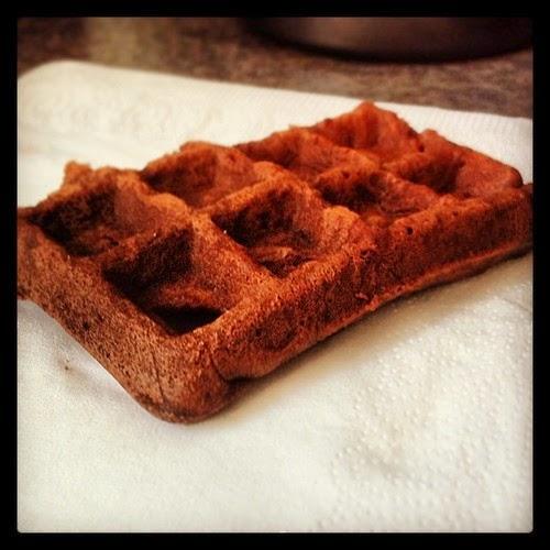 gaufre chocolat iscomigoo recettes