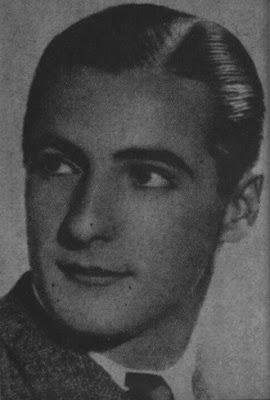 Carlos Dante en 1935 cuando integraba la Orquesta de Miguel Calo